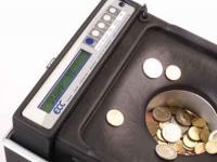 Münzzähl- und Sortiermaschine