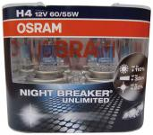 OSRAM Night Breaker Unlimited H4 (Duo-Box)