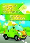 "Plakat Autowäsche ""Frühling"""