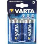 Varta High Energy, LR20, D, Mono, 2er Blister (5 Stück)