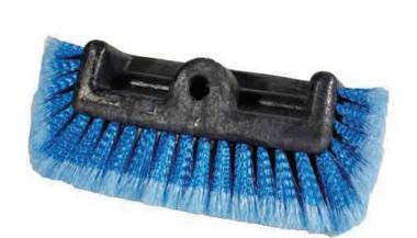 Winkelbürste (Flächenwascher), 4-seitigiger Borstenbesatz