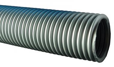 Saugerschlauch, NW 50, silber (verchiedene Längen) 20 m