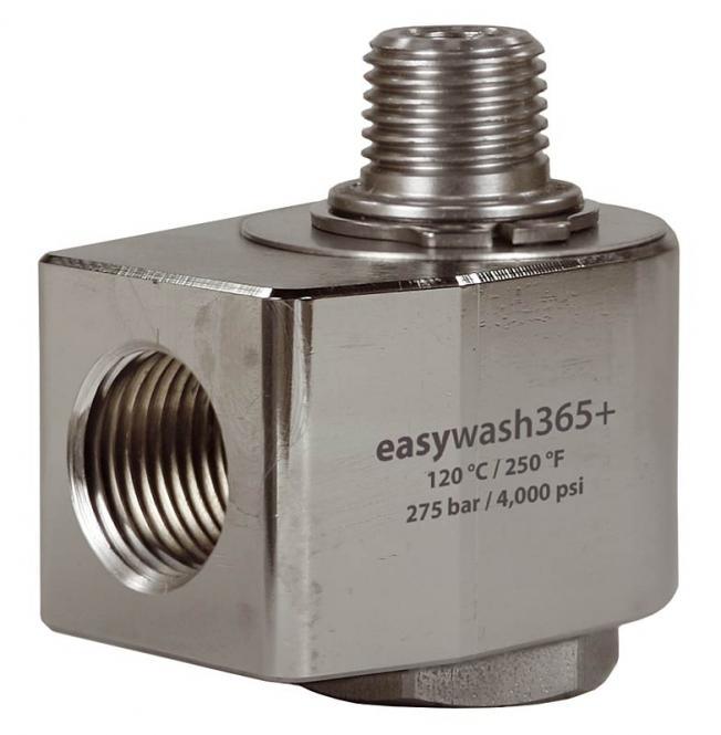 easywash365+ Winkeldrehgelenk 1/4 IG - 1/4 AG