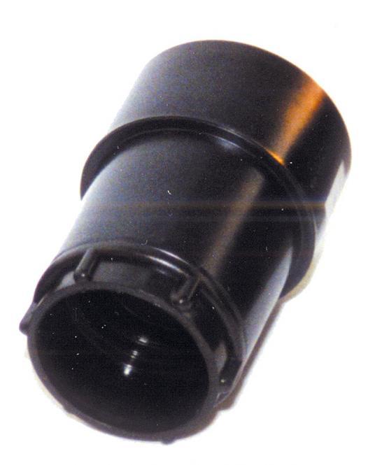 Kombi-Schlauchmuffe NW 40, drehbar, schwarz, für 50er Werkzeug