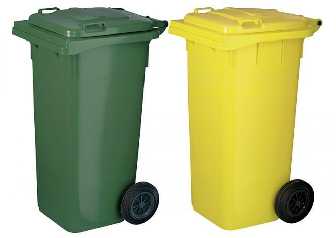 Kunststoff-Müllgroßbehälter, 120 l