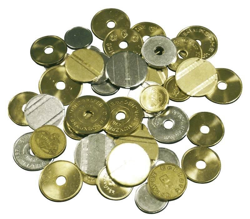 Witas B2b Shop 100 Münzen Neutral Mit Loch Online Kaufen